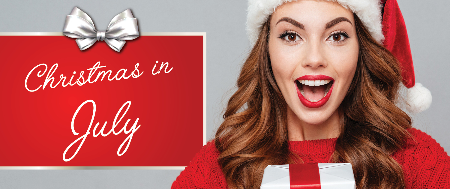 Christmas in July Massage Deals